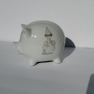 Precious Moments childrens piggy bank